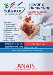 Trabalhos Apresentados no 16º Congresso Sabincor de Cardiologia